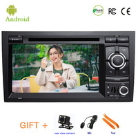 Car DVD player For Audi A4 S4 RS4 2002 2007 GPS stereo audio navigation,Android 9.1,Double DIN Bluetooth ISP 7'' screen