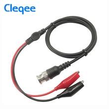 Cleqee P1011 BNC Q9 штекер для двойной крокодил осциллограф тестовый зонд кабель 110 см измерительный инструмент Аксессуары