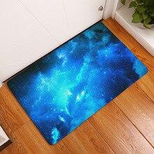 Синий звездное небо коврик модный Гостиная Кабинет Спальня ковер нескользящий коврик 40*60 см/50*80 см новые горячие коврики на продажу