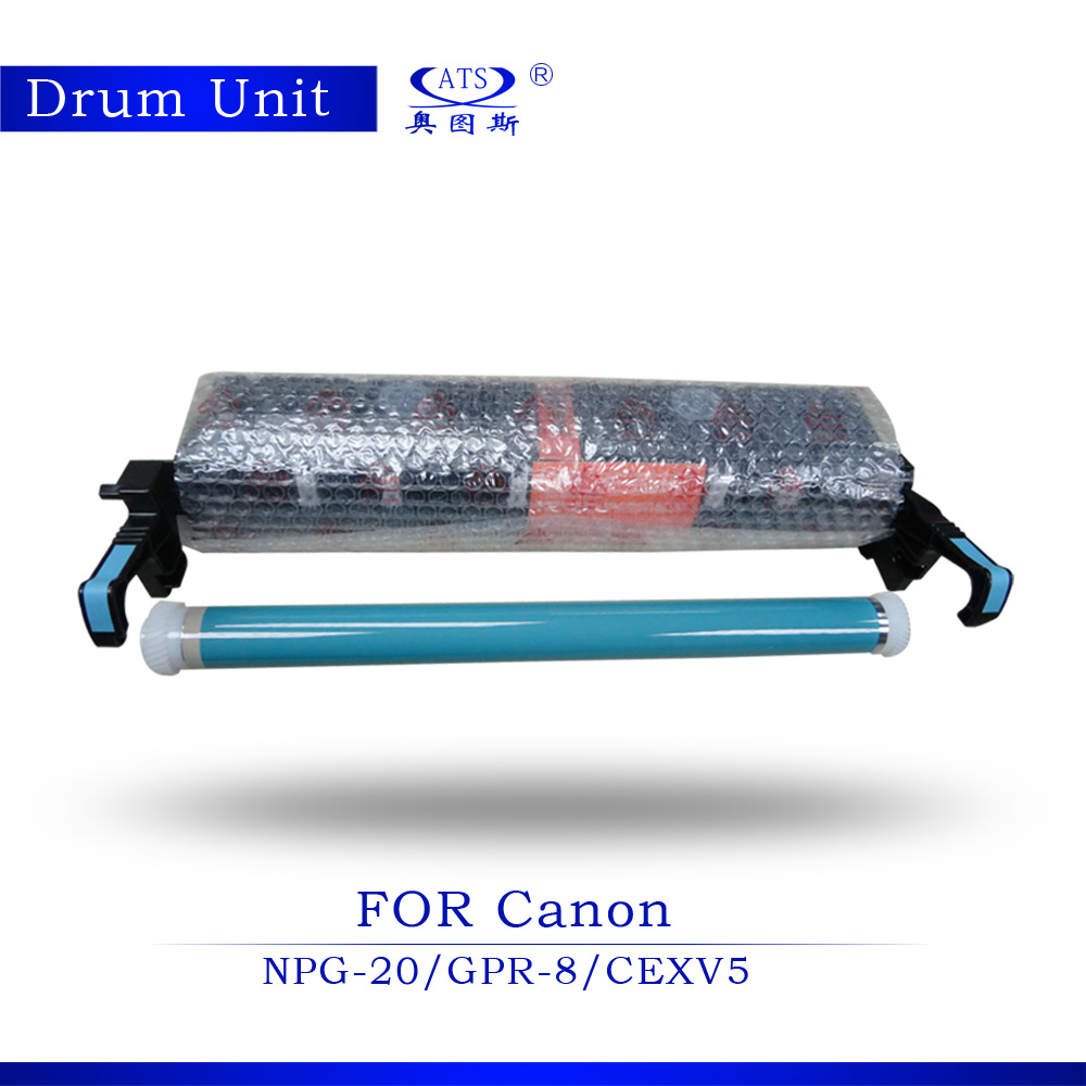 New Copier Spare Parts 1PCS Drum Unit Compatible for Canon IR155 IR165 IR200 IR1600 IR2000 GPR-8 NPG-20 C-EXV5 Copier Parts compatible new lower sleeved roller bushing for canon ir155 ir165 ir1600 ir2000 ir2010 20 pairs per lot