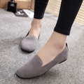 Women Loafers Ladies Slip on Shoes Woman Flats Ballet Flats Female Casula Shoes Black Creepers Zapatos mujer Spring Autumn 2919
