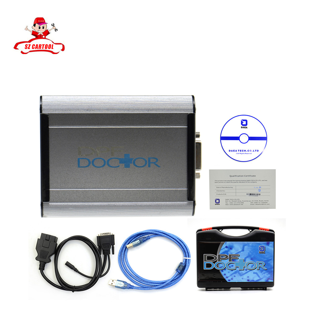 Hot selling DPF Doctor Diagnostic Tool For Diesel Cars Particulate Filter heavy duty diagnostic tool DHL free shipping