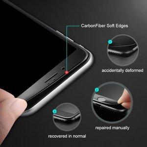 Image 3 - Ronican 3d 전체 곡선 강화 유리 애플 아이폰 7 6 6s 프리미엄 진짜 9 h 탄소 섬유 필름 전체 화면 커버 수호자
