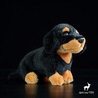 Kawaii Dachshund Doll Children'S Toys Birthday Gift Simulation Dog Plush Animal Toy