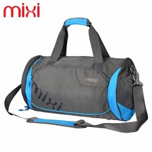 Mixi Waterproof Sports Handbag Women Men Outdoor Shoulder Bag 28L Capacity Fitness Gym Bag
