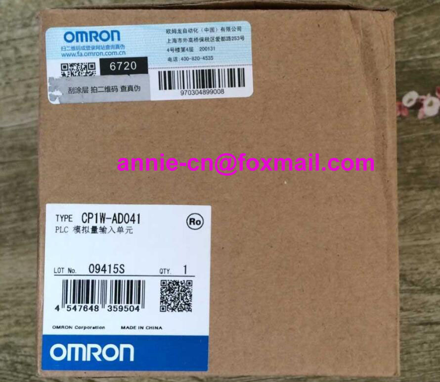 100% New and original  CP1W-AD041  OMRON PLC CONTROLLER  Analog input unit cp1w 16er new and original omron plc controller plc module