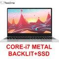 15,6 дюймовый ноутбук Intel i7 8 GB/16 GB ram 512GB 1 ТБ HDD металлический корпус 1080P Windows 10 раскладная клавиатура двухдиапазонный WiFi игровой ноутбук