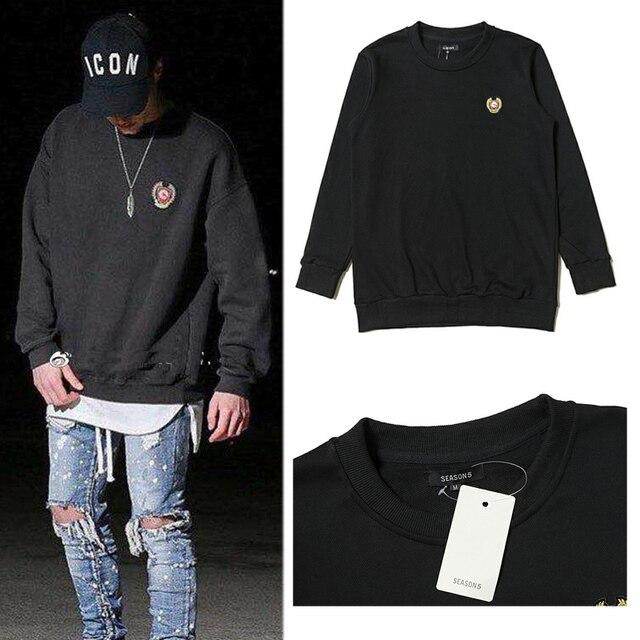 2cf568816 2018 New Season 5 Hoodies Women Men 1 1 Autumn Winter Calabasas Season 5  Sweatshirts
