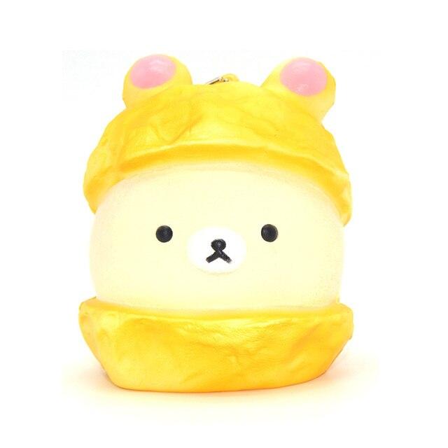 Kawaii Tubers Squishy Tag : 20PCS/lots Kawaii Jumbo Cap Rilakkuma Squishy Doll Cartoon Bread Scented Ballchain with Tag Kid ...