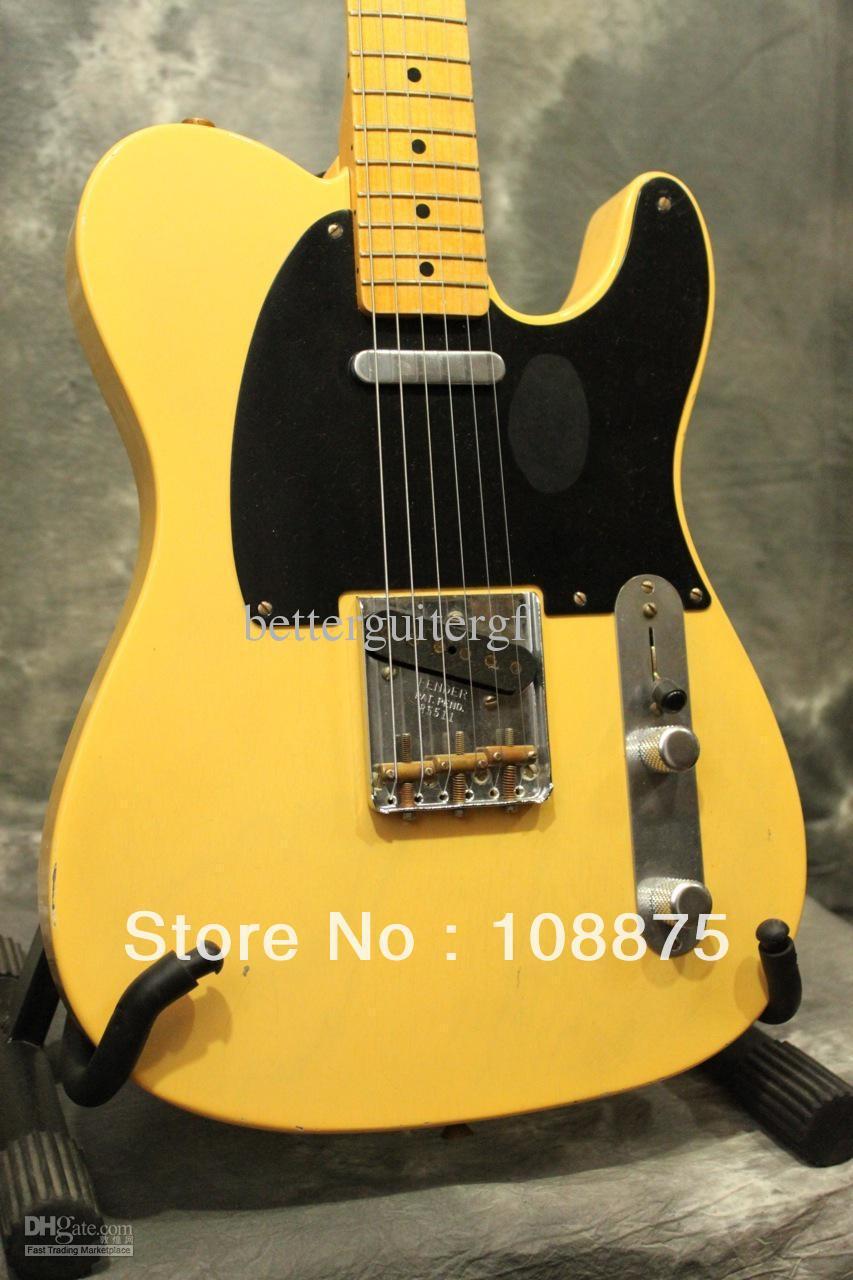 Best China Guitar Deluxe Model Custom Relic Nocaster 100