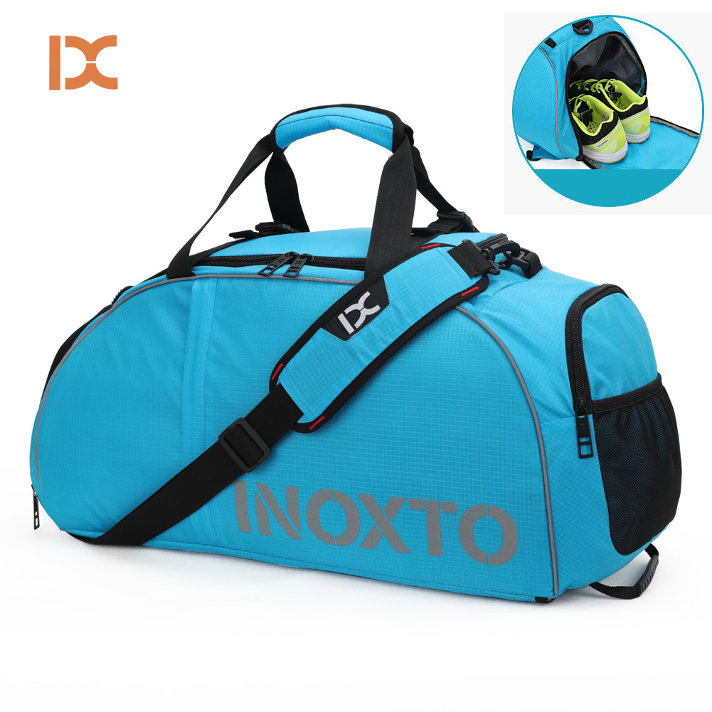 Gym-Bags Sack Sports Shoes Double-Shoulder-Bag Training Travel Fitness Waterproof Outdoor