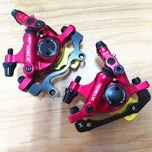 1 paire vtt ligne de route tirant hydraulique frein à disque vélo frein vélo étriers de frein avant et arrière vélo frein accessoires