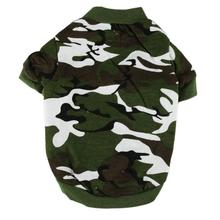 Doggy Camouflage Coat Clothes