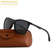 KEITHION Polarized Sunglasses Mens Brand Vintage Driving Sun Glasses Men Fashion Driver Safety Protect UV400 Eyeglasses