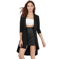 Women New Leisure Suit Jacket Female Long Section Of The Spring Autumn Blazers 2016 New OL