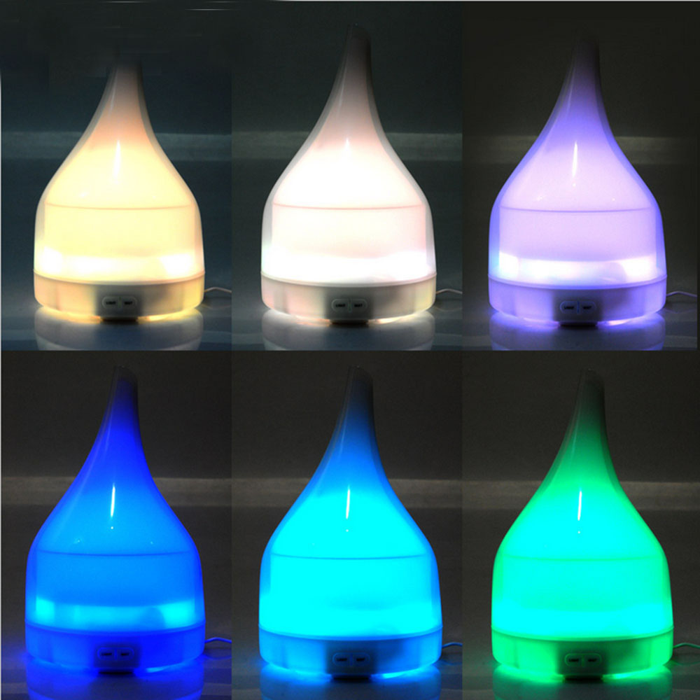 Long Neck Ultrasonic Aromatherapy Essential Oil Diffuser High Capacity Humidifier with Auto Shut- Off Color Therapy For Home Spa hot sale humidifier aromatherapy essential oil 100 240v 100ml water capacity 20 30 square meters ultrasonic 12w 13 13 9 5cm