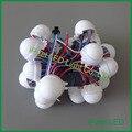 ShenZhen fábrica 3 LED 30mm DMX512 ws2801 ws2811 levou nó de pixel