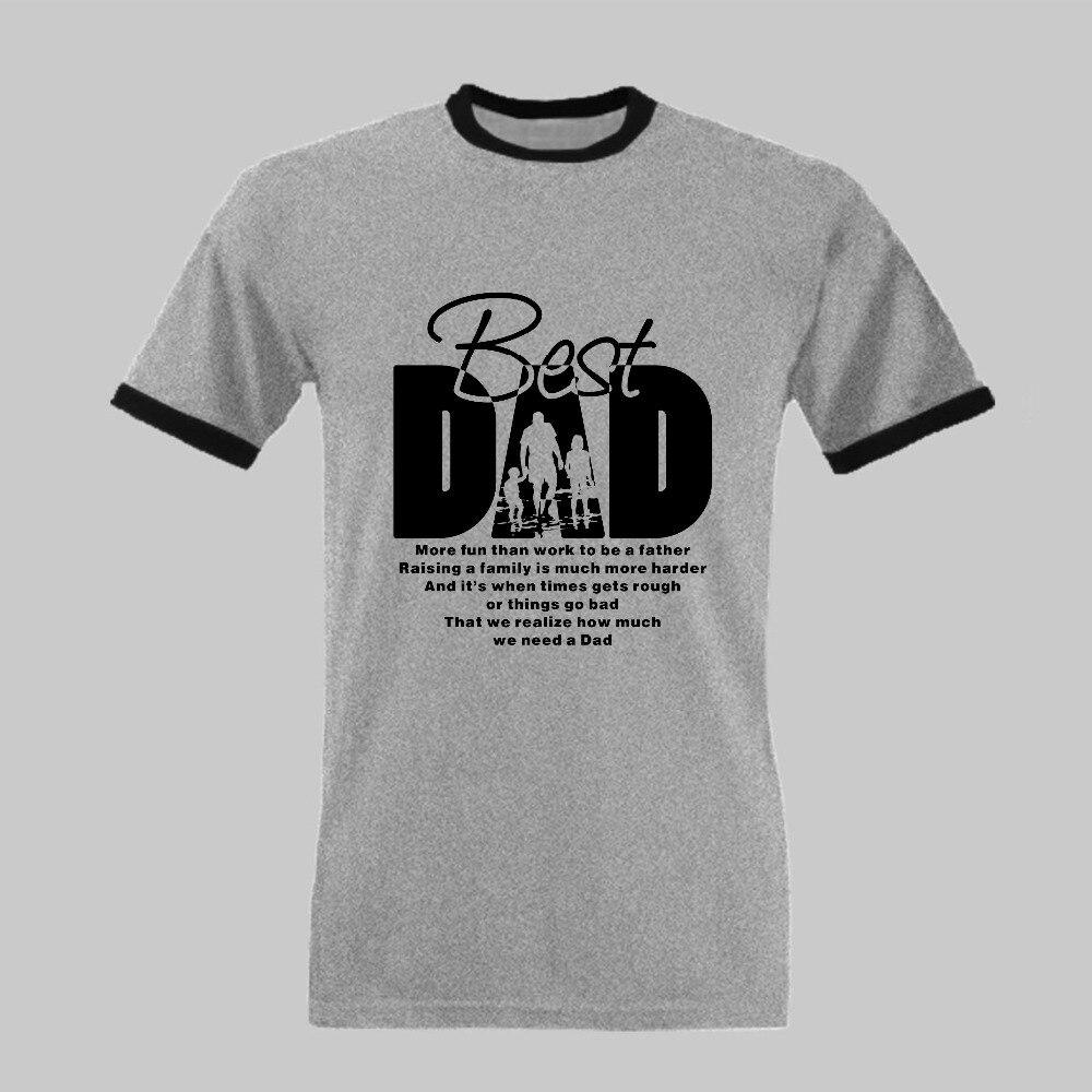 Vatertags geschenk T shirt Best Dad Individuell Bedruckte T Shirt ...