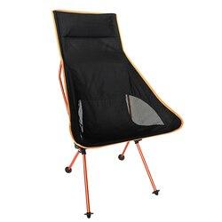 Lekki odkryty aluminiowy kwadrat przenośne składane krzesło wędkarza narzędzie stołek kempingowy na piknik BBQ krzesło plażowe niebieski kolor