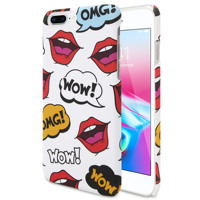 ANYLIFE Anti shock premium back case (with pattern on edges) // iphone 6+/6s+/7+/8+ OMG