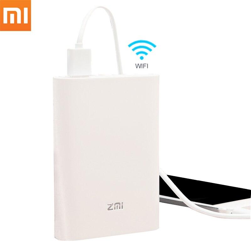 D'origine Xiaomi Zmi MF855 7800 mah 3g 4g Sans Fil Routeur Portable Mobile Unicom Telecom 4g LTE Wifi routeur Avec Mobile Power Bank
