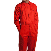 Men Work Overalls Long Sleeve Working Coveralls Comfortable Cotton Labor Uniforms Workwear Repairman Auto Repair Plus