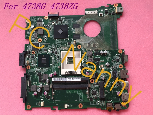 MBRBL06001 DA0ZQ9MB6C0 Laptop Motherboard for Acer Aspire 4738 Non-Integrated HM55 Graphics Card Good Quanlity Tested