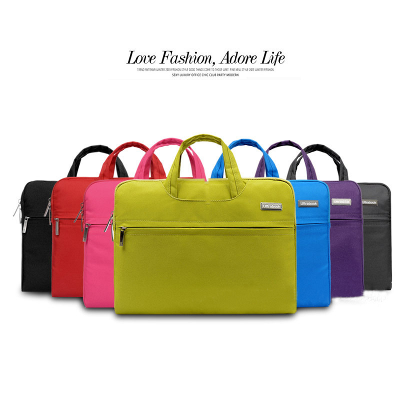 2015 Hot Fashion  11,12,13,14 15.6 inch Universal Laptop Ultrabook Notebook Skin Bag &for Macbook Air Pro Sleeve Case Women Men