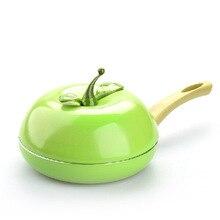 Heißer Verkauf Obst Pfanne Farbe Topf Keramik Grillpfanne Aluminiumguss Kochgeschirr Gas Grill Pan
