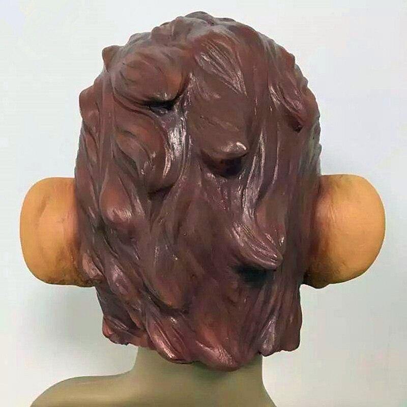 US $18 99 |GTA Grand Theft Auto V Gorilla Mask Latex Harley Beast Knight  Chimpanzee Masks hood monkey Latex mascaras Halloween game play-in Party