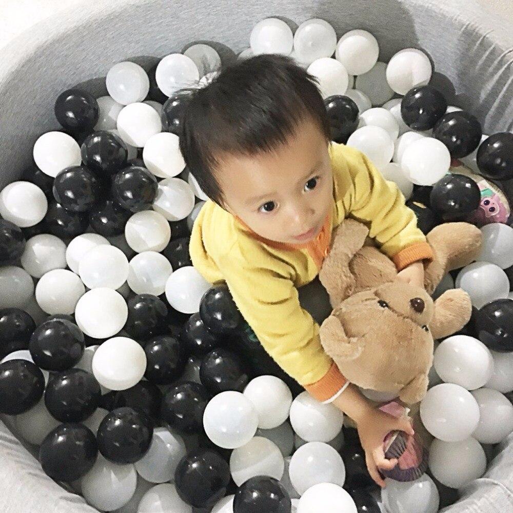 50 stücke 7 CM Baby Anti Stress Ozean Ball Sicher Kunststoff Spielzeug Ballons bälle Für Pool Pit Outdoor-sportarten Spiel Spielzeug Für Kinder Beste geschenk