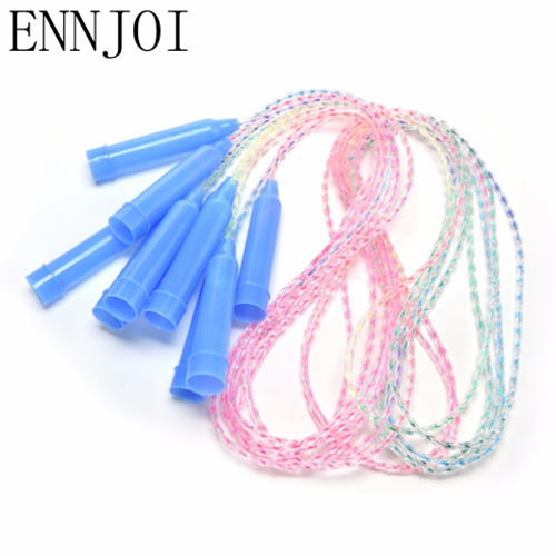 2M Single Colorful Jump Skipping Ropes Fitness Sports Training Skip Rope For Child Jumping Exercise Equipment