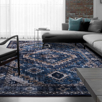 Vintage Persian Style Carpets For Living Room Imported Chenille American Carpet Morocco Rugs Bedroom Bedside Mat Home Carpet