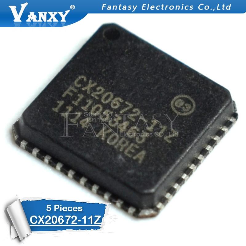 5 шт. CX20672 11Z QFN 40 QFN40 CX20672 новый оригинальный QFN Интегральные схемы      АлиЭкспресс