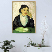 Van Gogh Famous Master Artist L Arlesienne Madame Ginoux Canvas Painting Poster Print Pictures Living Room Wall Art Home Decor элейн ломберд orchestre philharmonia de strasbourg alain lombard bizet l arlesienne suites 1