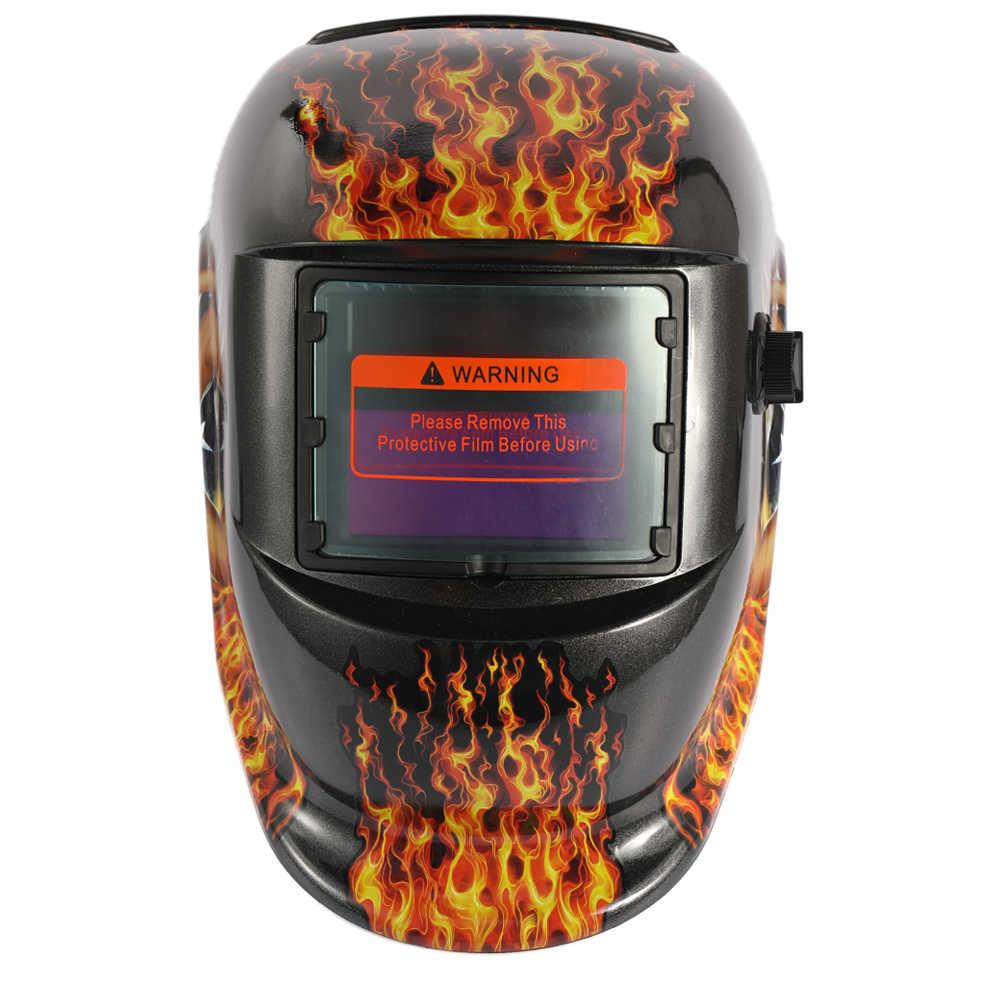 Солнечная Авто Затемнение TIG точечный сварочный шлем электрическая Сварочная маска/шлем/сварочный колпачок/сварочный объектив для сварочного аппарата