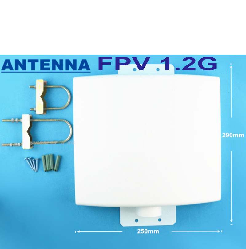 12DBI 1.2G 1.3G panel antenna for CCTV transceiver 1100-1300Mhz FPV transmitter 1.2G FPV transceiver antenna TX antenna12DBI 1.2G 1.3G panel antenna for CCTV transceiver 1100-1300Mhz FPV transmitter 1.2G FPV transceiver antenna TX antenna