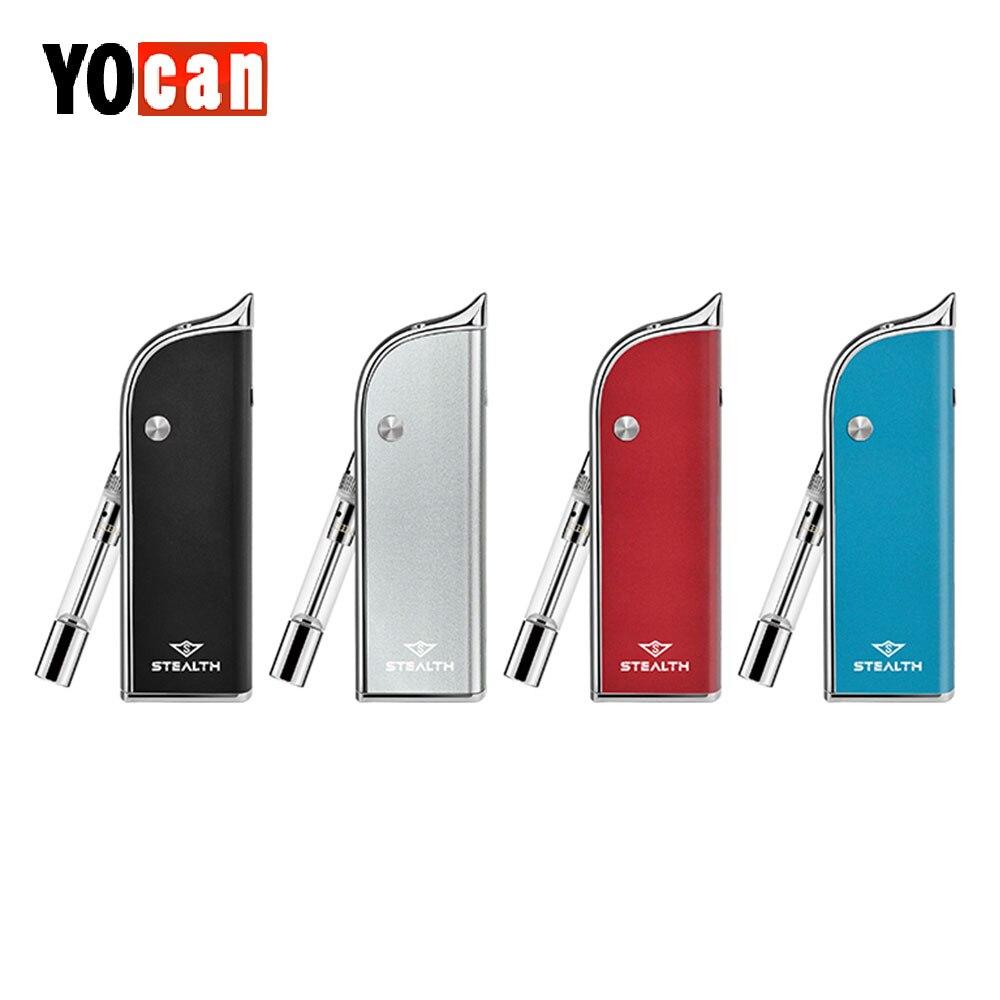 D'origine Yocan Furtif 2 Dans 1 Kit avec 650 mah Batterie Intégrée et Jus Atomiseur et Concentré Atomiseur Vs Yocan évoluer Plus XL