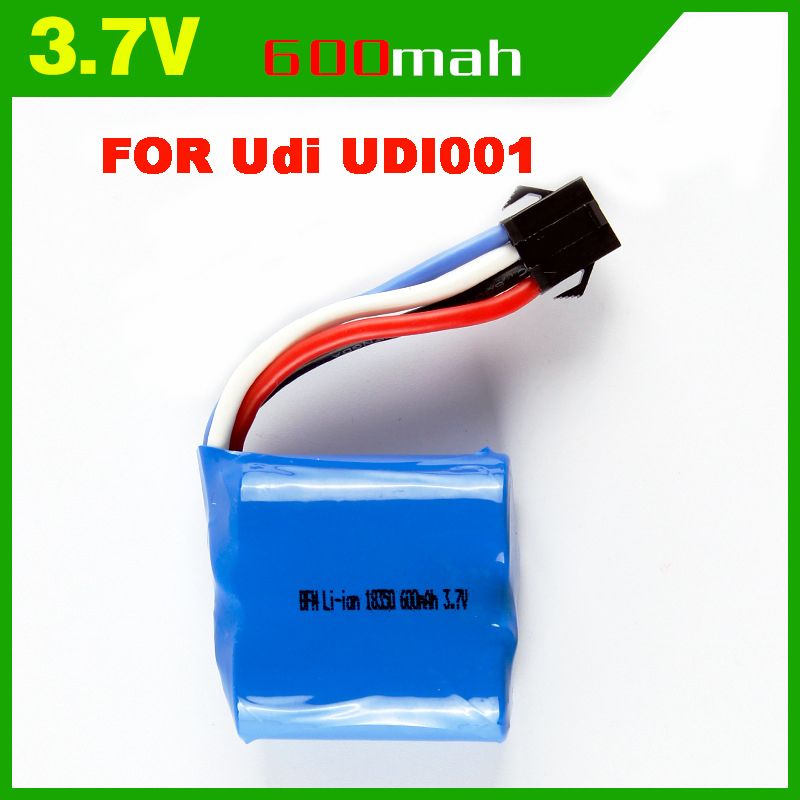 <font><b>7.4V</b></font> <font><b>600mAh</b></font> <font><b>Lipo</b></font> <font><b>Battery</b></font> For UDI R/C UDI001 UDI011 Venom Speed Boat <font><b>7.4V</b></font> <font><b>600mAh</b></font> Li-ion Replacement <font><b>Battery</b></font> image