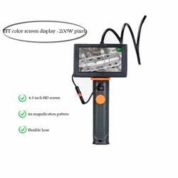 4.3 cal duży ekran endoskop HD narzędzie do naprawy samochodu narzędzie do naprawy rur mikroskop szkło powiększające
