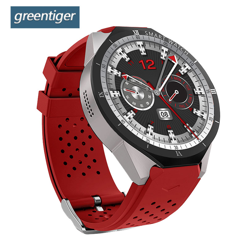 Greentiger KW88 Pro Smart Watch GPS 3G Quad Core 1 3GHz Bluetooth 4 0 Smart Wristband