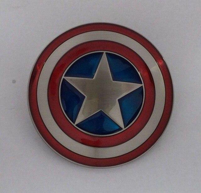 Marvel Comics Captain America Shield Belt Buckle Jf By333 Suitable