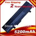 5200mah Battery For Asus Eee PC 1011px 1011P 1011PD 1011PN 1011CX 1011C 1011BX Black