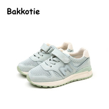 Bakkotie 2017 New Fashion Spring Autumn Baby Boy Casual Mesh Sport Shoe Breathable kid Brand Girl Sneaker Child Trainer Soft