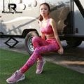 Women Yoga Bra Pant Running Sets Sport Suit Clothes Fitness Tights Compression Gym Tracksuits Sportwear Legging 2 Piece Yoga Set