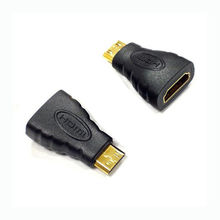 Mini HDMI Male to Female Adapter High Quality Gold Plated Converter For HDTV 1080P