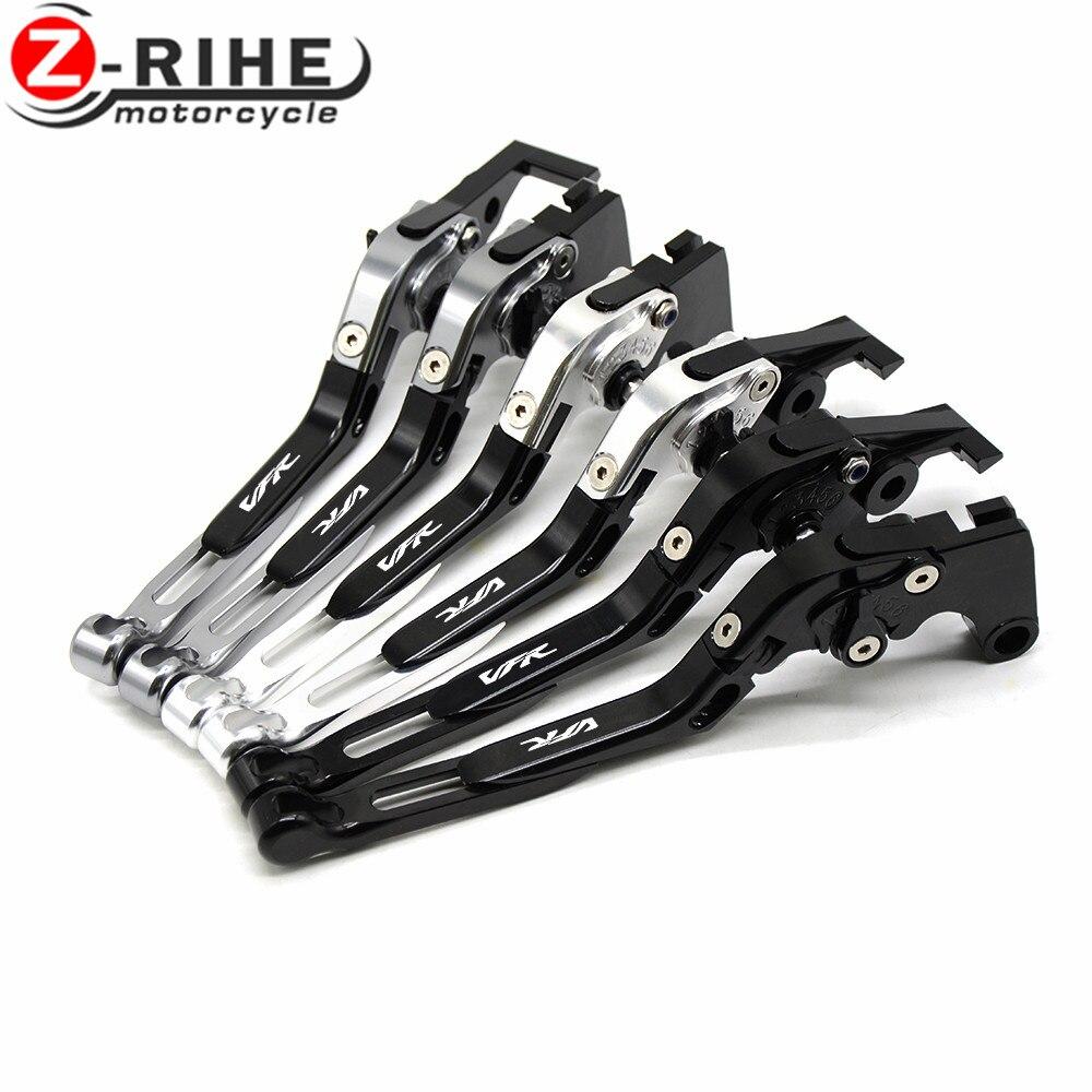 For Honda VFR 750 VFR750 1991-1997 VFR 800 F VFR800 F 2002-2015 2016 2017 Motorcycle accessories handle CNC Brake Clutch Levers