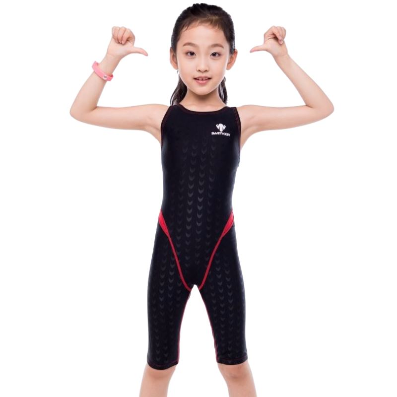 2018 Plus Size Bather Shark Skin Competition Child Girl Women Swimwear Bodysuit Female Swimsuit One Piece Surf Bathing Swim Suit competition racing one piece swimsuit