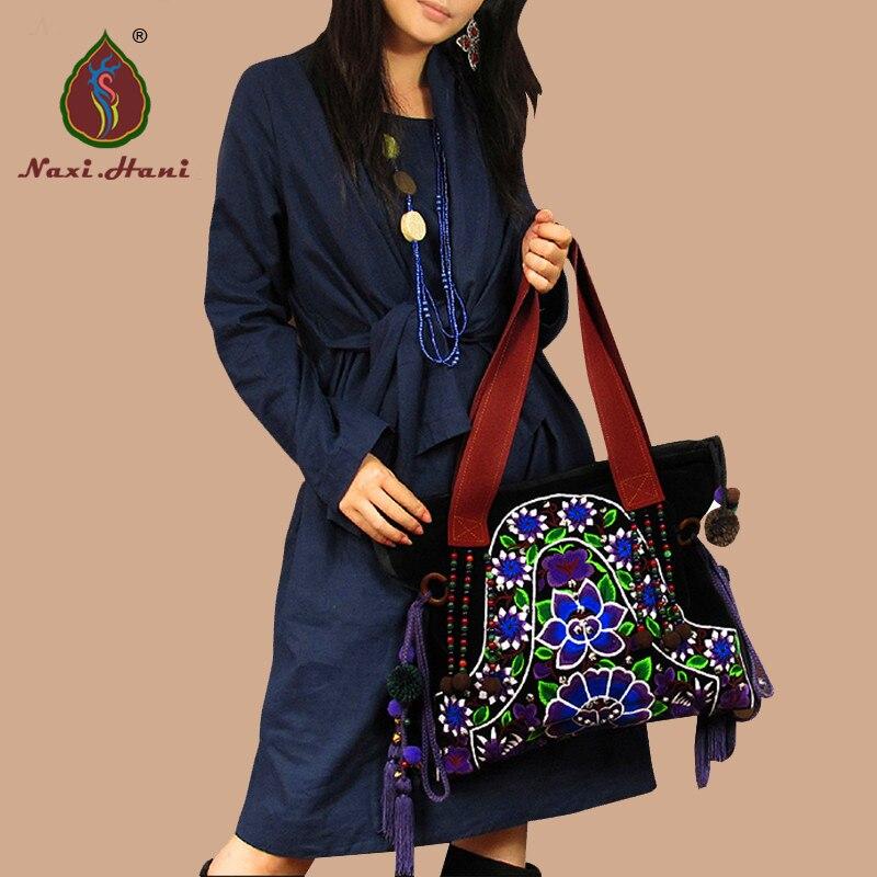 Embroidery Women Handbags Naxi Hani