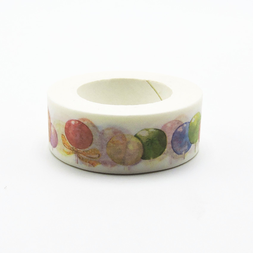 Colors Printing Washi Tape 10M Length Kawaii Scrapbooking Tools Japanese Stationery  Quality Scrapbook